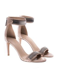 KENDALL + KYLIE - Pink ankle-strap sandals with zip