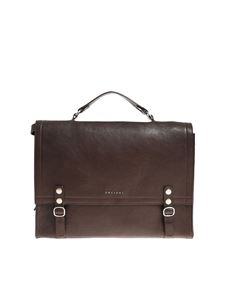 Orciani - Dark brown shoulder bag