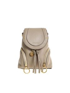 See by Chloé - Hammered leather backpack