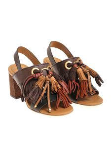 See by Chloé - Sandals with fringes