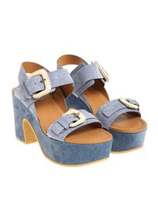 See by Chloé - Denim sandals