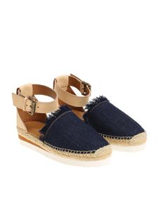 See by Chloé - Blue denim sandals
