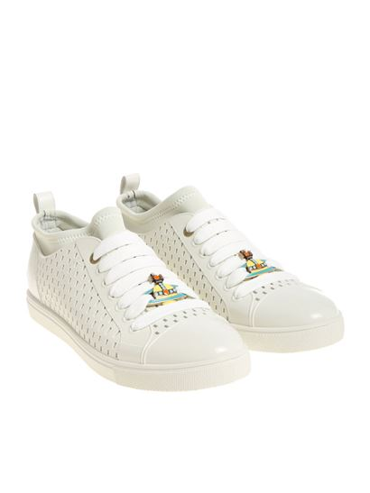 Vivienne Westwood  - Ice-colored rubber sneakers