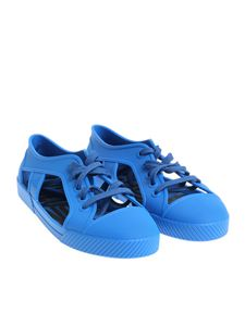 melissa + Vivienne Westwood Anglomania - Electric blue rubber shoes
