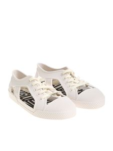 melissa + Vivienne Westwood Anglomania - White rubber shoes