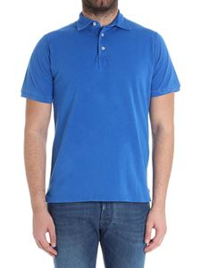 Fedeli - Eletric blue North cotton polo
