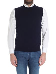 Kangra Cashmere - Blue cotton vest