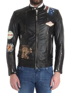 S.W.O.R.D. - Quilted leather jacket (Gold Limited Edition)