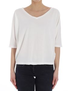 7 For All Mankind - White cotton top