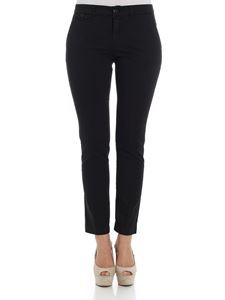 Kubera - Black embroidered trousers