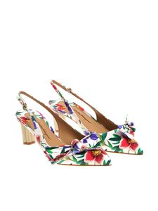Salvatore Ferragamo - Aulla floral shoes