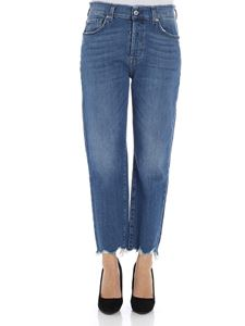 7 For All Mankind - Blue fringed jeans