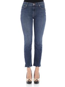 MOTHER - Blue Pascal Ankle jeans