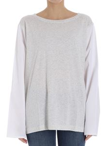 Sofie D'Hoore - Gray and white t-shirt