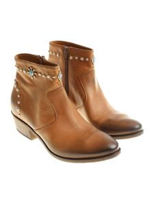 Strategia - Brown Roxana ankle boots