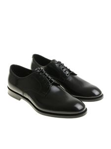 Doucal's - Black Derby shoes