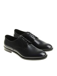 Doucal's - Blue Derby shoes