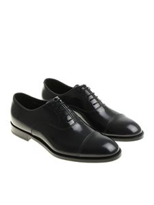 Doucal's - Blue Oxford shoes