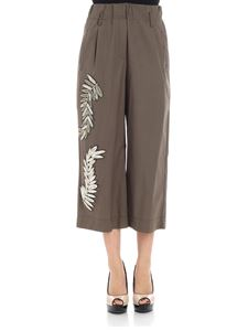 Alessandra Chamonix - Trousers with beads and embroideries