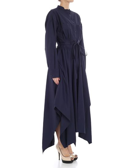 Blue Oblate dress Sportmax Store Online From China Clearance Store For Sale Discount Pay With Paypal 2018 Cool y94UyFPzRm