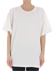 MM6 by Maison Martin Margiela - White printed t-shirt
