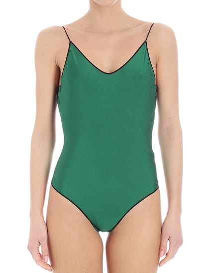 Sale Newest Quality Outlet Store Travaille swimsuit - Green Oséree fwDJ5n