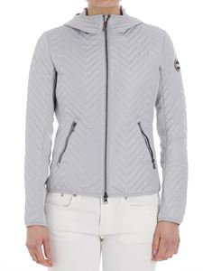 Colmar - Gray quilted jacket