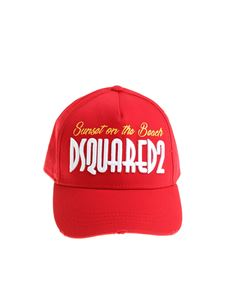 Dsquared2 - Red Sunset on the beach hat