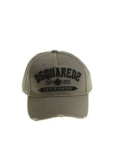 Dsquared2 - Green hat with logo embroidery