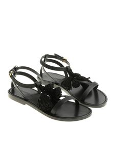 Dsquared2 - Black sandals with tassels