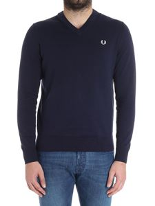 Fred Perry - Dark blue sweater