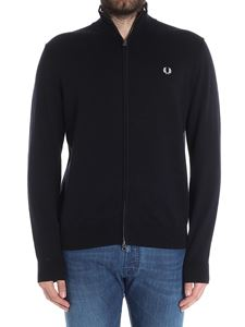 Fred Perry - Black cardigan