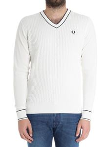 Fred Perry - Ribbed logo sweater