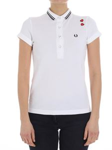 Fred Perry - White polo (Amy Winehouse Foundation)
