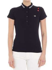 Fred Perry - Black polo (Amy Winehouse Foundation)