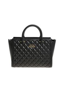 Love Moschino - Quilted black bag
