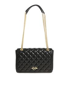 Love Moschino - Black quilted shoulder bag