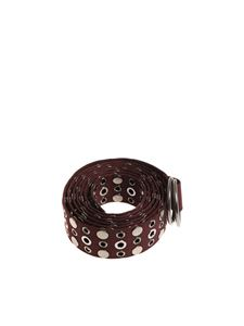 Pinko - Belt with silver metal studs