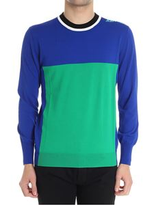 Kenzo - Blue and green sweater