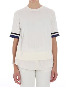 Moncler - Cream-colored flared top