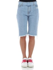 Off-White - Denim bermuda