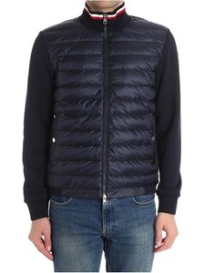 Moncler - Cotton cardigan with padded front