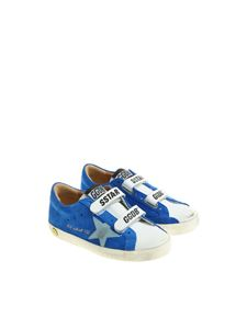 Golden Goose Deluxe Brand - Electric blue Old School sneakers