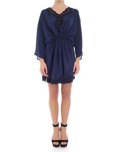 Ermanno by Ermanno Scervino - Silk dress with drawstring