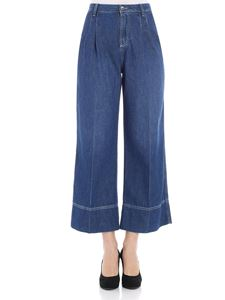 Ermanno by Ermanno Scervino - Cropped jeans with pleats