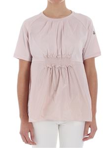 Moncler - Pink flared top