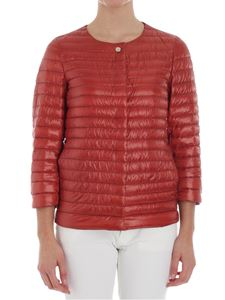 Herno - Quilted jacket with three-quarter sleeves