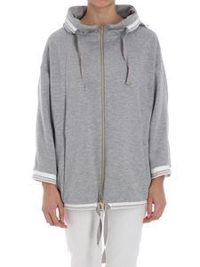 Herno - Gray fleece jacket