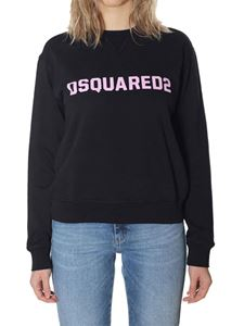 Dsquared2 - Black crewneck sweatshirt