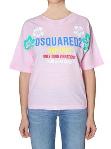Dsquared2 - Pink cotton T-shirt